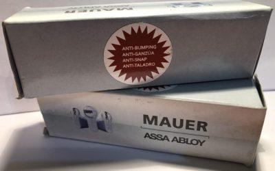 Nuevo Bombillo económico Antibumping  de Mauer.